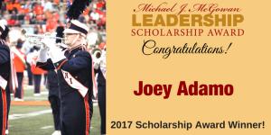2017 Scholarship Award Winner